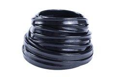 friso de acabamento preto